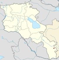 Աղբուլաղ բնակավայրի դիրքը քարտեզի վրա